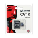 Kingston MICRO SD 32GB OEM met SD ADAPTER