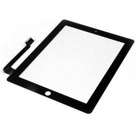Apple iPad 4 Touchscreen Digitizer zwart