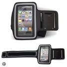 Ntech iPhone 4 / 4S sport armband Zwart