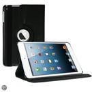iPad Mini 1 / 2 / 3 Hoes Cover Multi-stand Case 360 graden draaibare Beschermhoes zwart