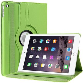 Ntech iPad Air 2 Case, 360 graden draaibare Hoes, Cover met Multi-stand Kleur Groen