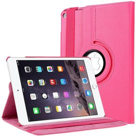 Ntech Apple iPad Air 2 Case, 360 graden draaibare Hoes, Cover met Multi-stand Kleur Pink