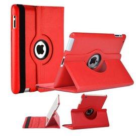 Ntech Luxe 360 graden Protect cover case voor iPad 2 / 3 / 4 Rood
