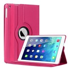 iPad Air 360 Graden Hoes Cover Stand Case Roze / Pink