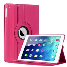 Ntech Apple iPad Air 360 Graden Hoes Cover Stand Case Roze / Pink