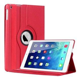 Ntech Apple iPad Air Luxe Hoes Cover Rotatie Beschermhoes Rood