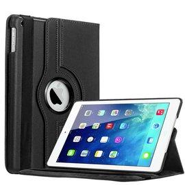 Ntech iPad Air Luxe 360 GradenRotatie Hoes Cover Case Zwart