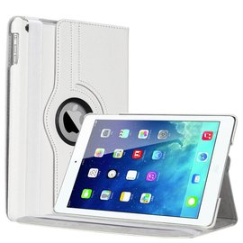 Ntech Apple iPad Air Luxe 360 Rotation Case Cover Wit