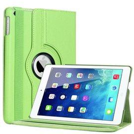 Ntech iPad Air 360 Graden Rotatie Hoes Cover Case Groen