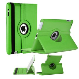 Ntech Apple iPad Mini / Mini 2 Case, 360 graden draaibare Hoes, Cover met Multi-stand Licht Groen