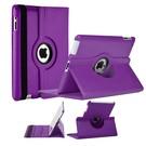 Ntech Apple iPad Mini / Mini 2 Case, 360 graden draaibare Hoes, Cover met Multi-stand Paars