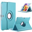 Ntech Samsung Galaxy Tab 4 10.1 T530 Tablet draaibare case cover hoes Licht Blauw