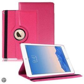 Ntech Apple iPad Air 2 Case, 360 graden draaibare Hoes, Cover met Multi-stand Kleur Pink / Roze