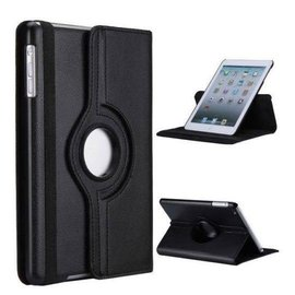 Merkloos iPad Mini / Mini 2 Rotation Folio Case Zwart