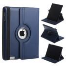 Luxe 360 graden Protect cover case voor iPad 2 / 3 / 4 Donker Blauw