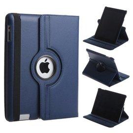 Ntech 360 graden Protect cover case voor iPad 2 / 3 / 4 Donker Blauw