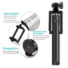 Merkloos Mini Foldable bluetooth Selfie Stick met knop in het handvat voor uw iPhone 6 Plus / 6S Plus / Bluetooth Afstandsbediening