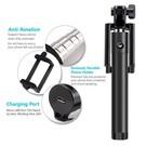 Mini Foldable bluetooth Selfie Stick met knop in het handvat voor uw iPhone 6 Plus / 6S Plus / Bluetooth Afstandsbediening
