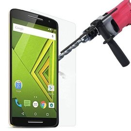 Ntech Motorola Moto X Play Bullet Proof Tempered glass - nTech