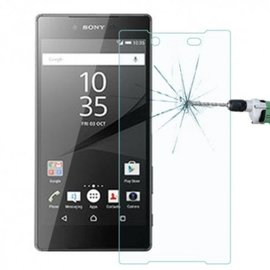 DrPhone Sony Xperia Z5 Compact Glas - Premium Glazen Screen protector - Tempered Glass 2.5D 9H (0.3mm)