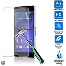 Glazen Screen protector Tempered Glass 2.5D 9H (0.3mm) voor Xperia Z3 Compact