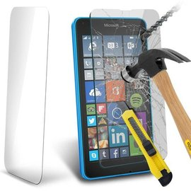Merkloos Nokia Lumai / Microsoft  640 XL Tempered Glass Screen protector  2.5D 9H (0.26mm)