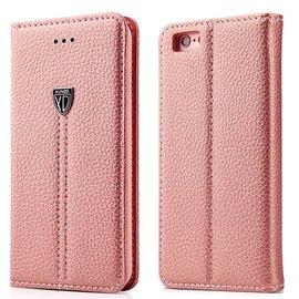 Xundd iPhone 7 4.7 inch leer wallet boektype hoesje met stand Rose Goud
