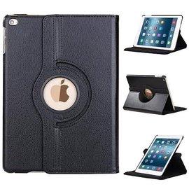 Ntech Apple iPad (2017) 360 graden draaibare Hoes - Zwart