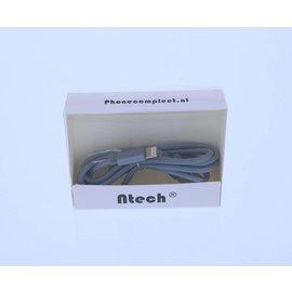 Merkloos USB Oplaadkabel en Datakabel Lightning (1m)
