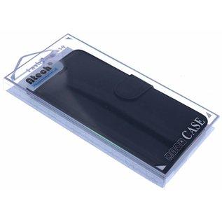 Zwart Booktype Hoesje iPhone X
