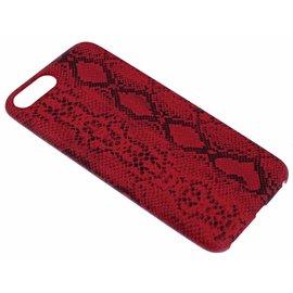Ntech Rood Slangen Design TPU Hoesje iPhone 8 / 7  Plus