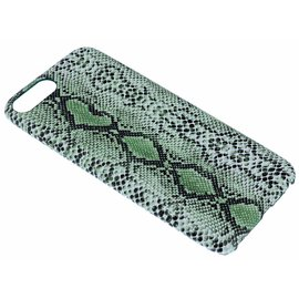 Ntech Groen Slangen Design TPU Hoesje iPhone 8 / 7  Plus