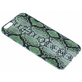 Ntech Groen Slangen Design TPU Hoesje iPhone 6 / 6S