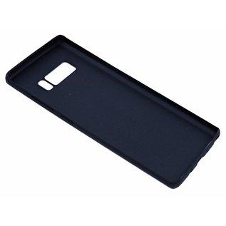 Puloka Leer met Studs Back Cover Hoesje Samsung Galaxy Note 8