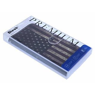 Amerikaanse Vlag Book Case TPU Hoesje Samsung Galaxy S8