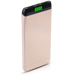 Cager S15 Power Bank 6000 mAh 2USB Port Goud