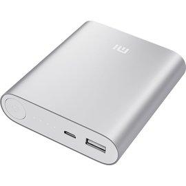 Xiaon Xiaomi 10400mAh USB Powerbank (Silver) met MicroUSB kabel