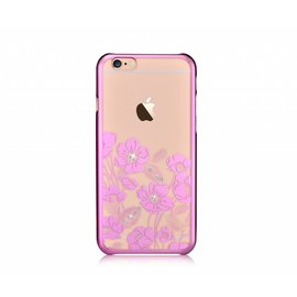 Devia Devia Roze Crystal Rococo PC Transparant Back Cover Hoesje iPhone 6 / 6S Plus