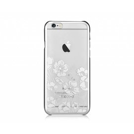 Devia Devia Zilver Crystal Rococo PC Transparant Back Cover Hoesje iPhone 6 / 6S Plus