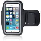Ntech Universele Zwart Sportarmband met Sleuterhouder iPhone X/8/7/6S/6