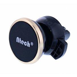 Ntech Ntech Universele Magnetische Auto Houder / Car Mount met twee metalen platen