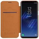 Nillikin Nillkin Bruin Qin Leather slim booktype Galaxy S9+