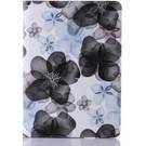 Ntech Apple iPad 2018 Flip Sweet Flower hoes / Luxury 360 draaibaar case Multi stand Zwart