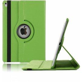 Ntech Apple iPad 9.7 (2018) Hoes Case Cover 360° draaibaar Multi stand Groen