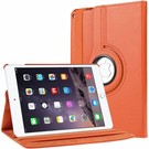 Apple iPad 9.7 (2017) Hoes Case Cover 360° draaibaar Multi stand Oranje