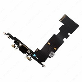 Merkloos iPhone 8 Plus - Charge Connector Flex Zwart