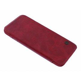 G-Case G - Case Rood Kunstleer Flip Cover Hoesje Samsung Galaxy S7