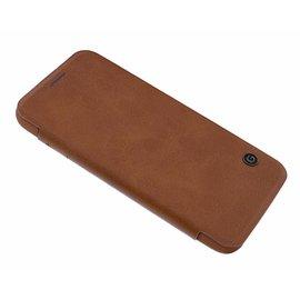 G-Case G - Case Bruin Kunstleer Flip Cover Hoesje Samsung Galaxy S7