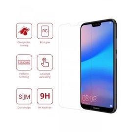 Ntech Huawei P20 Lite Tempered Glass / Beschermglas Screen Protector