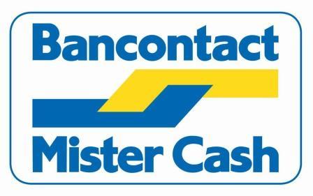Logo Bancontact - Mister Cash